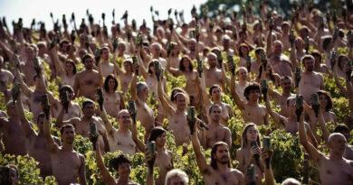 Greenpeace actie voor het klimaat, anno 2009.